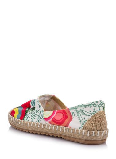 DeFacto Desenli Ayakkabı Pembe